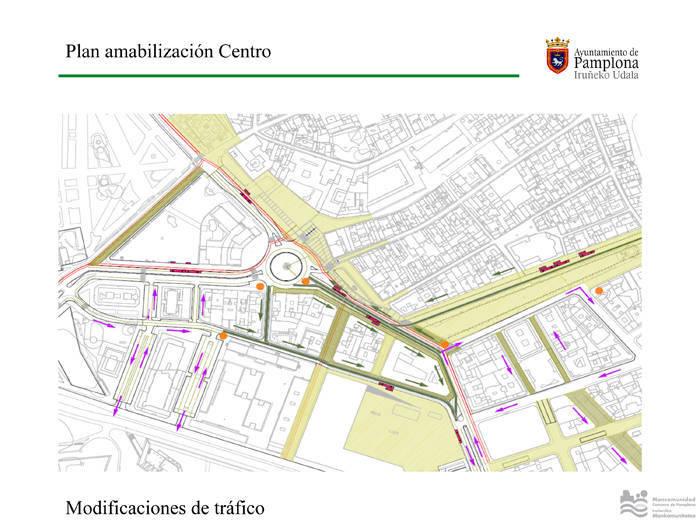 Peatonalizaciones dentro del Plan de Amabilización del Centro