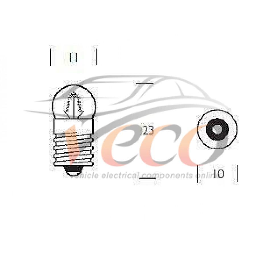 REPLACEMENT E10 MES 12 VOLT 2.2 WATT SCREW INSTRUMENT