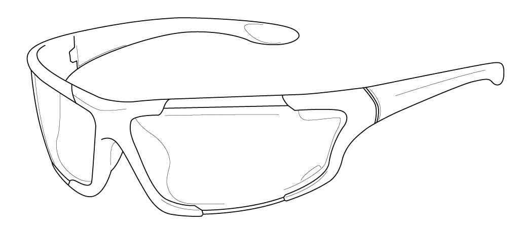 Illustrator Tutorial: Draw a Sunglass Using Gradient Mesh