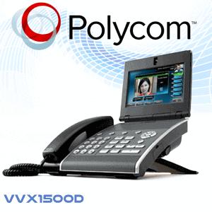 Polycom-VVX1500D-Dubai-UAE