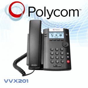 Polycom-VVX201-Dubai-UAE