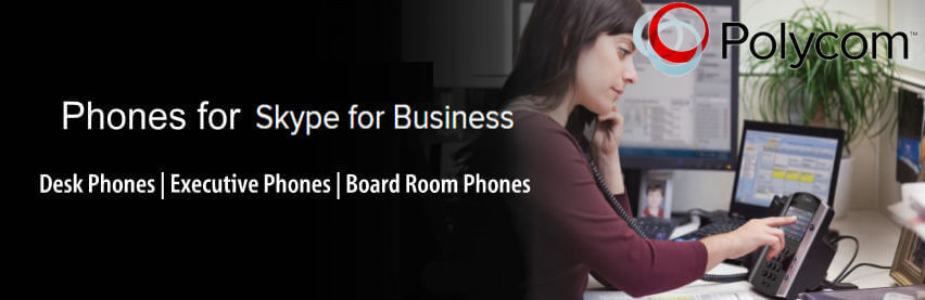 Polycom Skype for business phone