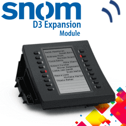 Snom-D3-Expansion-Module-Dubai-UAE
