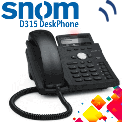 Snom-D315-Desk-Phone-Dubai-UAE