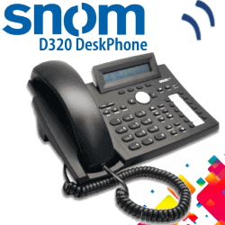 Snom-D320-IPPhone-Dubai-UAE