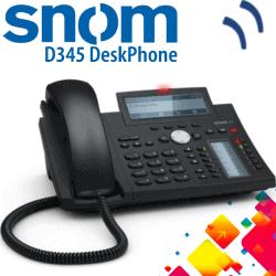 Snom-D345-IPPhone-Dubai-UAE