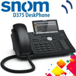 Snom-D375-IPPhone-Dubai-UAE