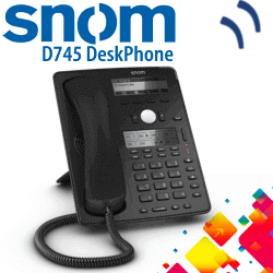 Snom-D745-IP-Phone-Dubai-UAE