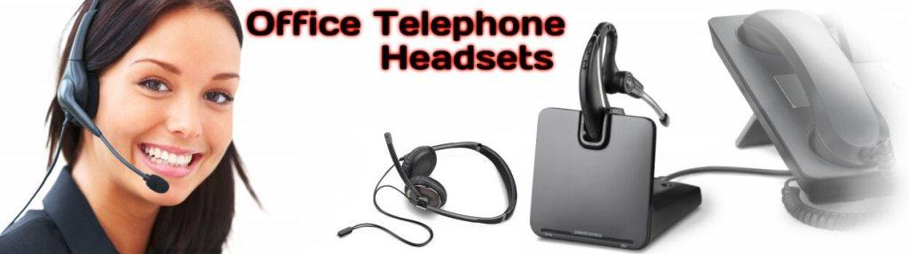 Telephone Headset Dubai   Office & Call Center Headphones