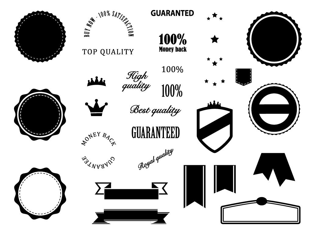 Free Download: Badges Elements