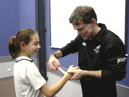Physiotherapy Vector Health - Strapping is part of an important role with your athletes