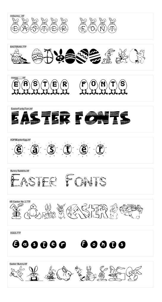 Download Fonts | Vectorilla.com - Vector Images