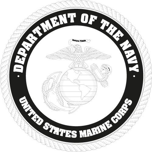 US marine corp black