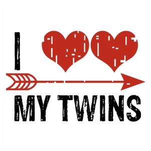 Download I love my Twins vector Download | I love my baby Twins ...