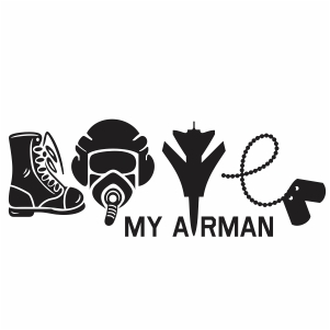 Download Love My Soldier SVG file | Love army svg cut file Download ...