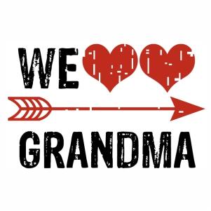 Download We love Grandma vector Download | We love Grandma Vector ...