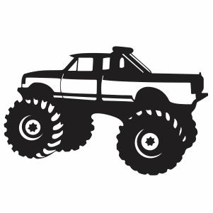 Download monster truck SVG file | truck svg cut file Download ...