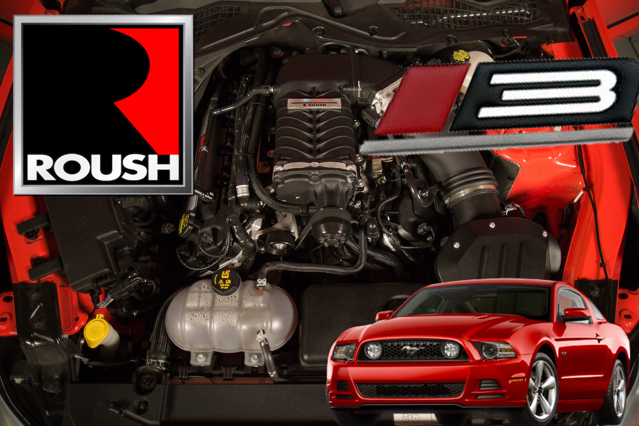 hight resolution of roush phase3 supercharger kit 11 14 mustang gt