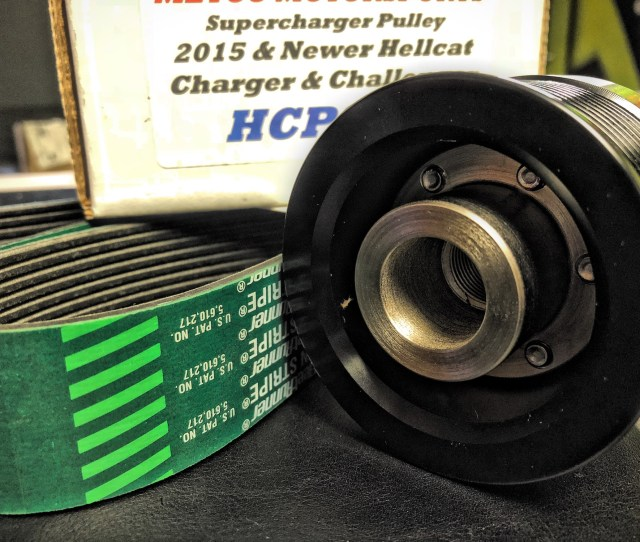 Hc 2 85 Supercharger Pulley