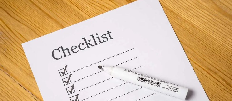 Move-In Checklist