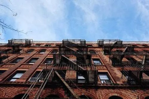 Apartment building in Hoboken