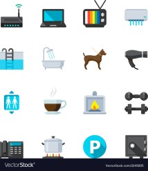 Amenities Hotel Icon Free Download