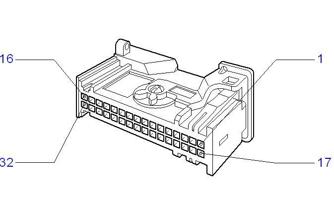 Philips Car Radio Wiring Connector. Diagram. Auto Wiring