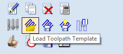 Vectric Toolpath Templates