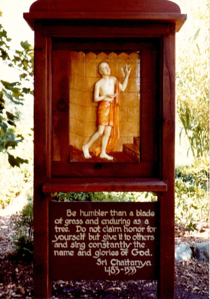13 - Vedanta Society of Sacramento - Garden of Saints - Sri Chaitanya-1