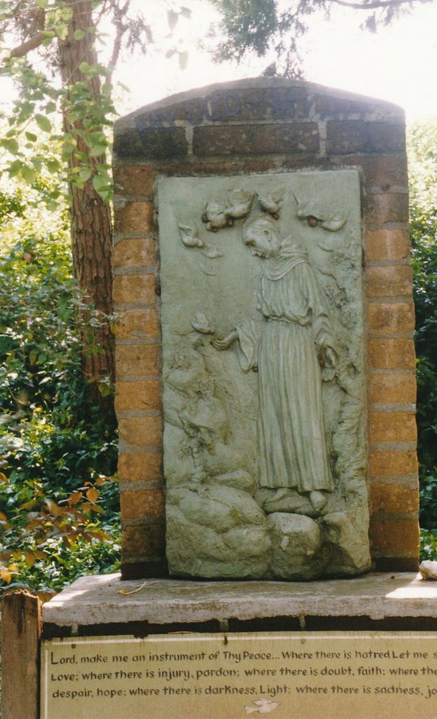 8 - Vedanta Society of Sacramento - Garden of Saints - Saint Francis