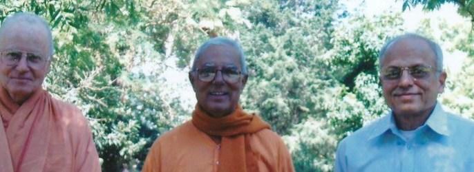 Visiting Swamis Header