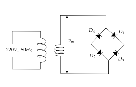 The turns ratio of the transformer used in a bridge class