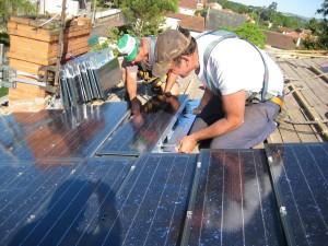 Pose de tuiles Photovoltaïques - 05