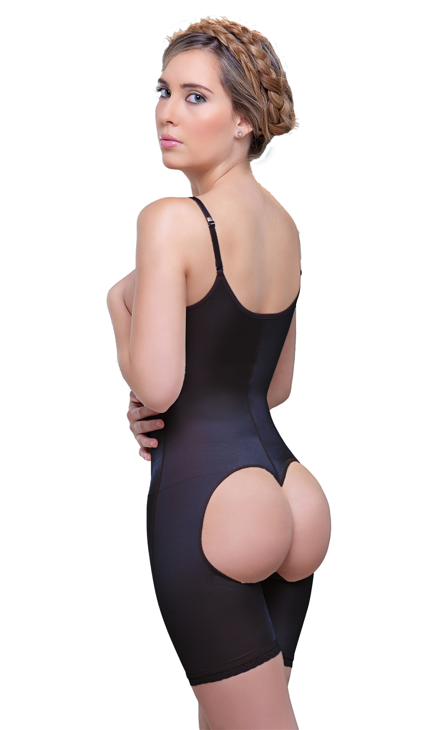 Open Bottom Mid thigh Shaper