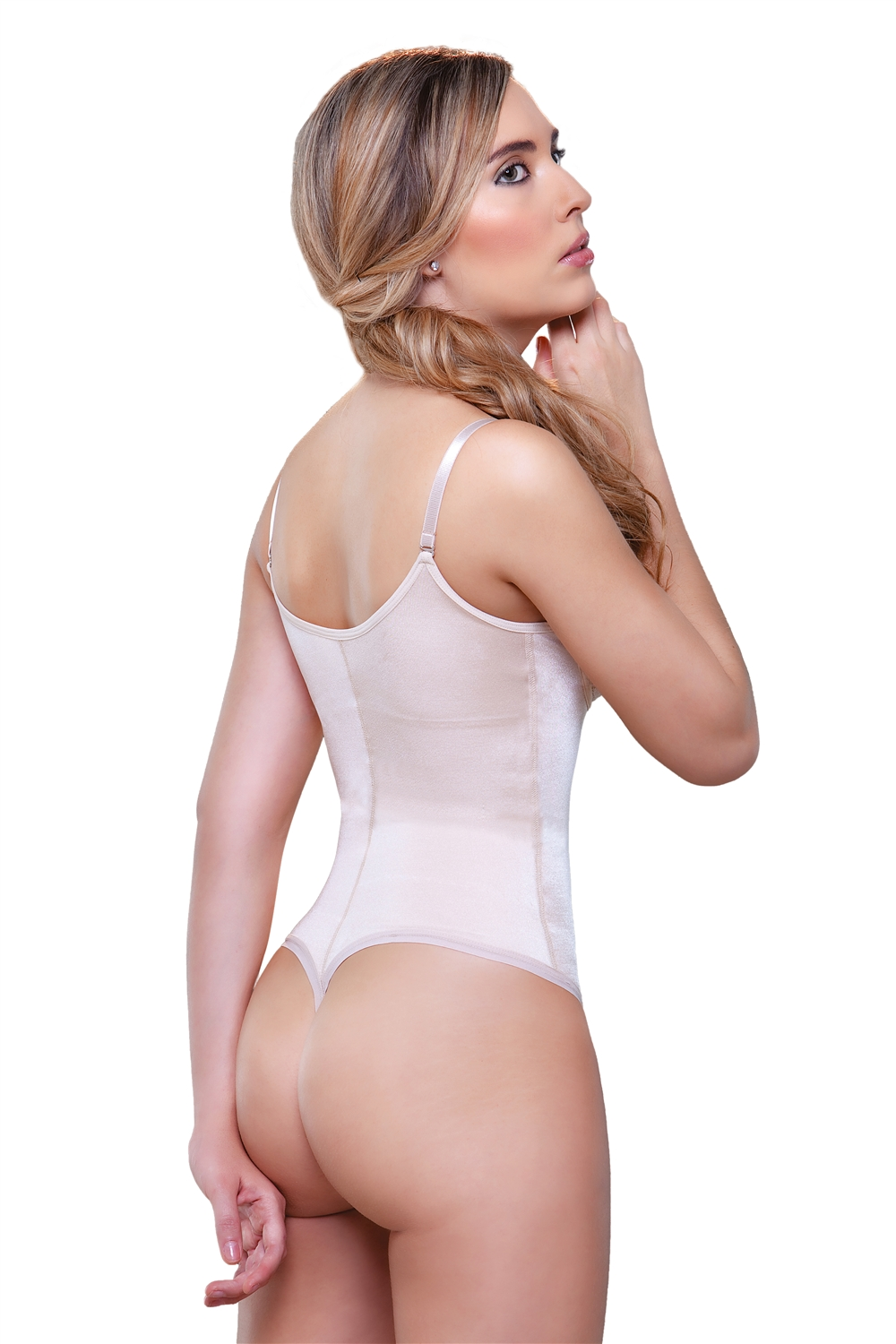Underbust Booster Bodysuit in Thong