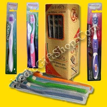 Patanjali Toothbrush.