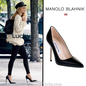 Blake-Lively-Manolo-Blahnik-BB-Pumps