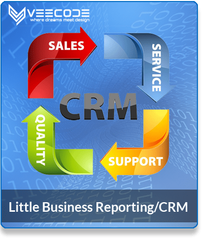 Veecode Little Business Reporting/CRM