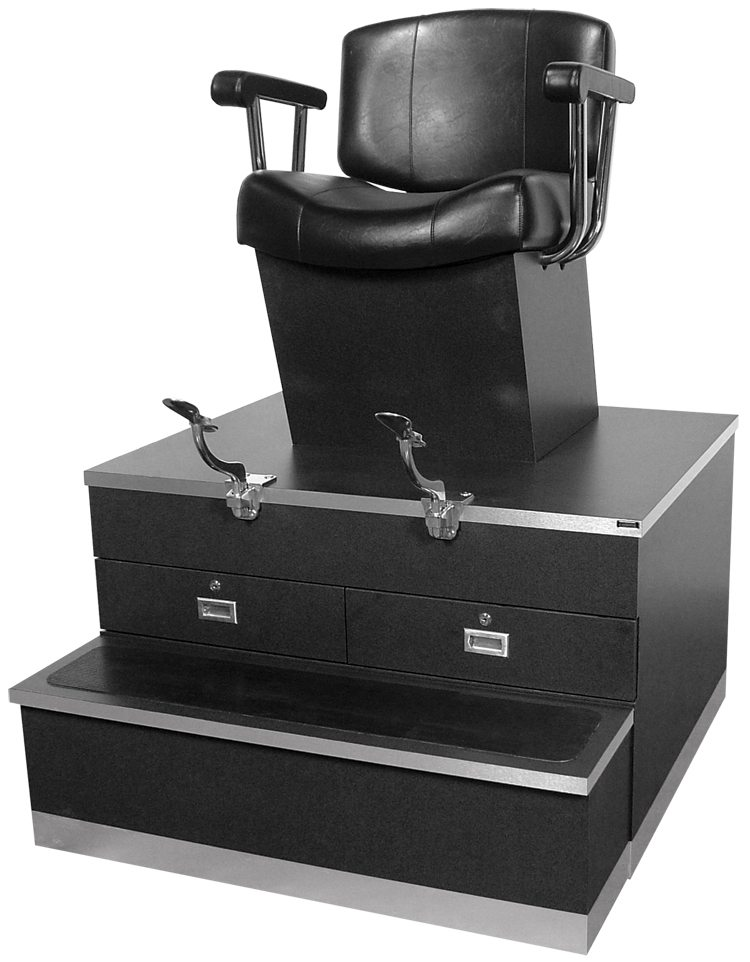 Continental Shoe Shine Stand  Veeco Salon Furniture  Design