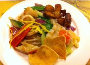 eten bij wok