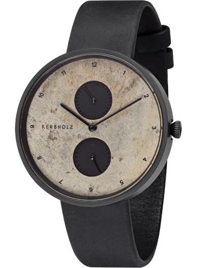 kerbholz-emil-midnight-slate-midnight-black-horloge-4251240406985-zwarte-kast-leren-band-natuursteen-wijzerplaat