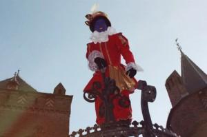 Piet in het kasteel