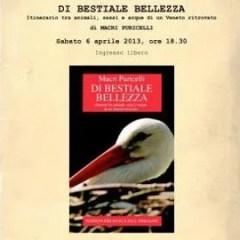 """A Bassano il 6 aprile: """"Di bestiale bellezza"""" di Macri Puricelli"""
