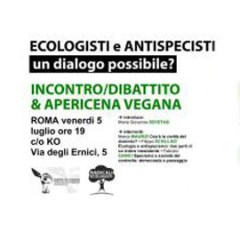 Ecologisti e antispecisti: un dialogo possibile?