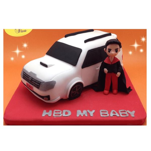 เค้ก3มิติ เค้กวันเกิด Dream-Cars