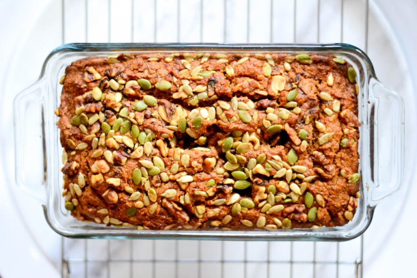 Quick vegan sweet bread. This award-winning recipe is indescribably delicious. Eat cake for breakfast all week! #vegan #recipe #bread