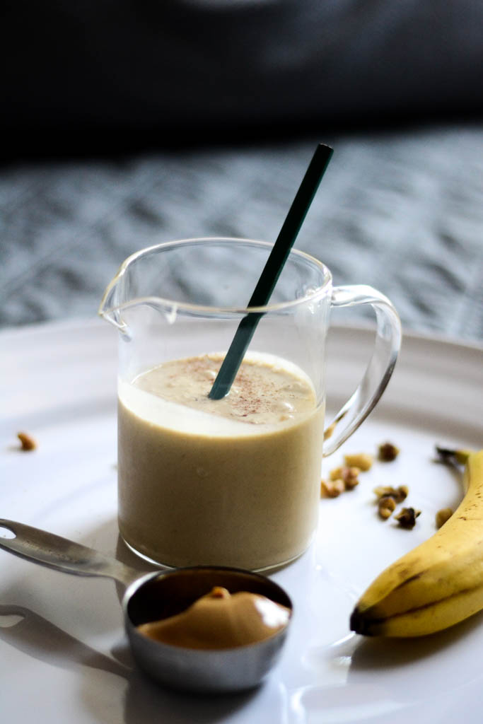 This decadent vegan power smoothie tastes so incredible you won't believe it's good for you! It's creamy, sweet and delicous with a secret ingredient you will love.