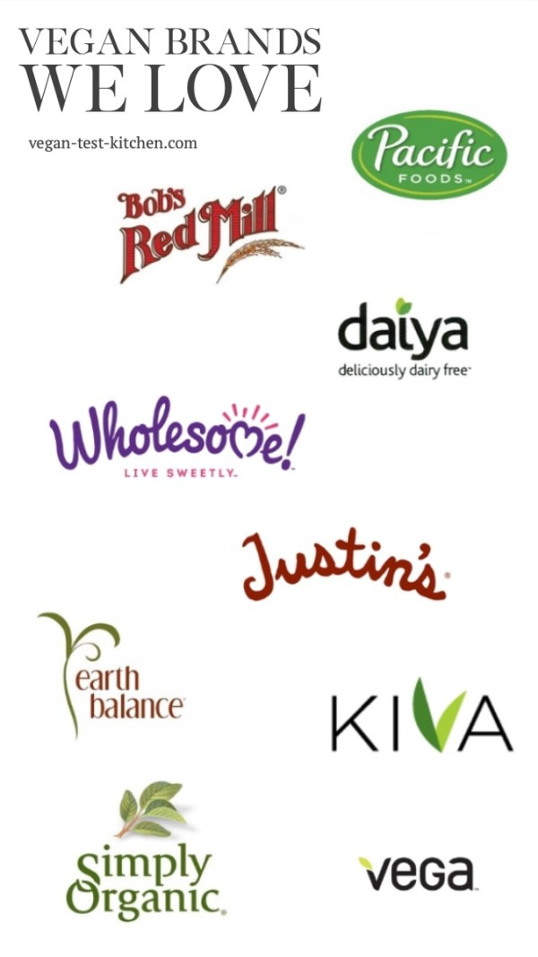 Discover the best vegan food brands now! Read our list of the top ten vegan food brands plus get our list of recipes we used their products in!