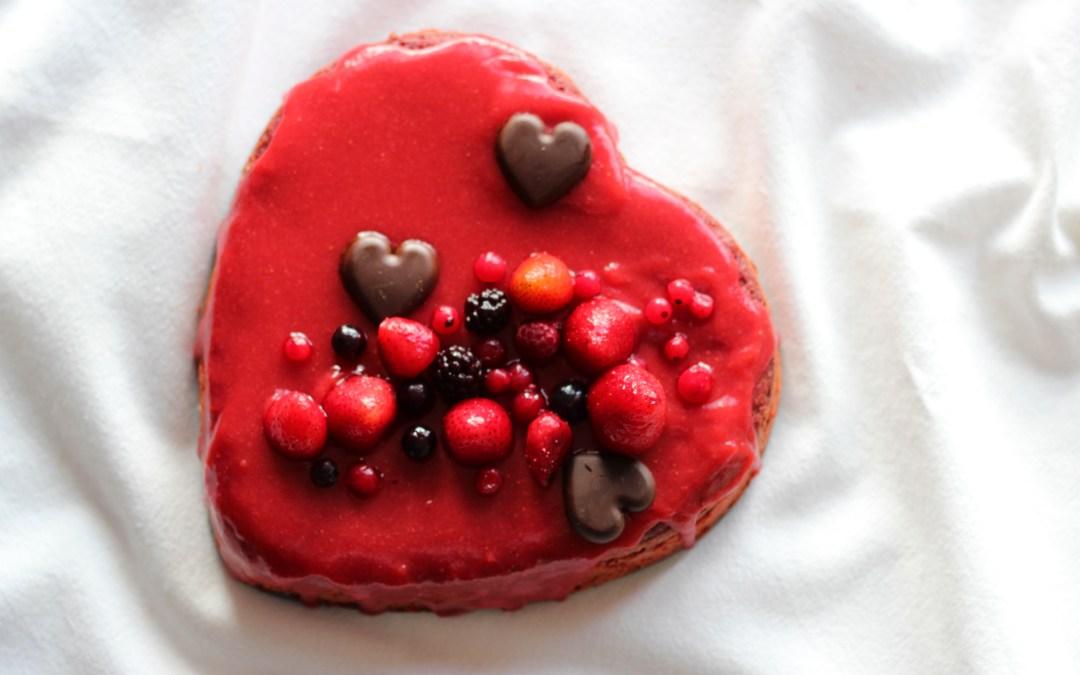 TARTA de REMOLACHA Para el Día de San Valentín