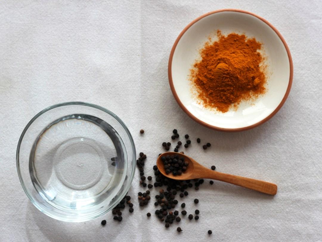Ingredientes de la Pasta para hacer Leche Dorada